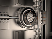 Vault Door, 3D — Stock Photo