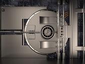 Vault Door, 3D — Stock Photo
