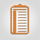 Checklist vector icon — 图库矢量图片