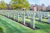 Canadian war cemetery in Holland — Stock Photo