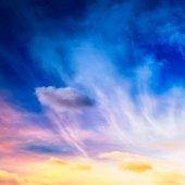 Fantasie hemel — Stockfoto