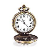 Locket clock isolated — Stock Photo