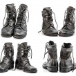 Combat boots group — Stock Photo #58522251