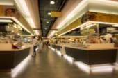 Blur food court — Stock Photo