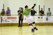 Duda Chavarria celebrating a goal — Stock Photo