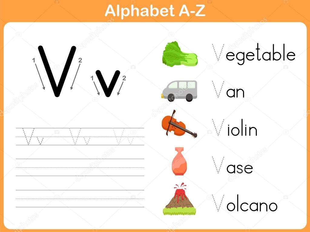 Alphabet worksheet printable