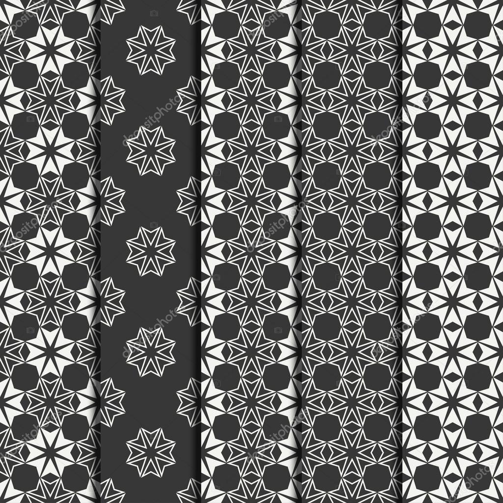 Moroccan geometric pattern royalty free stock photos image 13547078 - Ornamental Pattern Seamless Moroccan Background Hqvectorscom 437x470 Download Set Of Geometric