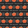 Happy Halloween. Seamless pattern with pumpkins. Trick or treat. Vector illustration. Background. — Stock Vector #51975481
