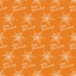 Happy Halloween. Seamless pattern with spiders web. Trick or treat. Vector illustration. Background. — Stock Vector #52000879