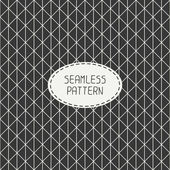 Vector seamless retro vintage geometric hipster line pattern. For wallpaper, pattern fills, web page background, blog. Stylish texture. — Stock Vector