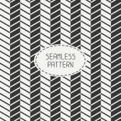 Vector retro chevron zigzag stripes geometric seamless pattern. Vintage hipster striped. For wallpaper, pattern fills, web page background, blog. Stylish graphic texture for your design. — Stock Vector