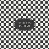 Geometric monochrome hipster squares seamless pattern. Paper for scrapbook. Tiling. Chess board. Beautiful vector illustration. Background. Stylish graphic texture for your design, wallpaper. — Stock Vector