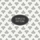 Vector geometric seamless retro pattern with vintage hipster diamond. Wrapping paper. Paper for scrapbook. Fashion background. Tiling. Stylish graphic texture for your design. — Stock Vector