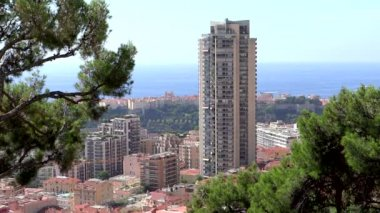 Principality of monaco, montecarlo — Stock Video