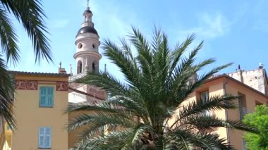 Glimpse of Menton, French Riviera — Stock Video