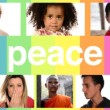 People for peace — Stock Video #53510971