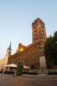 Old Town of Torun, Poland — Stock Photo