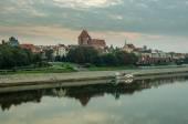 Morning in Old Town of Torun, Poland — Stock Photo