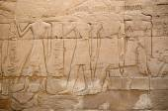 Relief  in the Precinct of Amun-Re  (Karnak , Luxor, Egypt) — Stock Photo