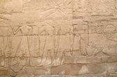 Relief in the Precinct of Amun-Re  (Karnak, Luxor, Egypt) — Stock Photo