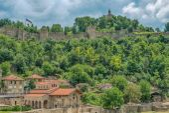 Veliko Tarnovo, Bulgaristan tarihi başkenti — Stok fotoğraf