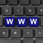 Www or world wide web word on keyboard — Stock Photo #55898147
