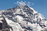 Swiss Alps mountain range, Jungfraujoch, Switzerland — Stock Photo