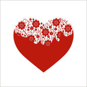 Heart for Valentine's Day — Stockvektor