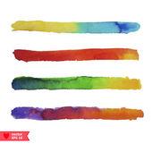 Bright watercolor texture — 图库矢量图片