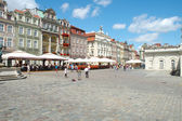 Old marketplace in Poznan — Stock Photo