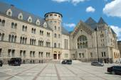 Emperor's castle in Poznan, Poland — Stock Photo