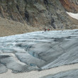 People on glacier (Steigletscher) in Alps in Switzerland — Stock Photo #61350715