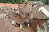 Roofs and buildings in Bern, Switzerland — Stock Photo