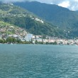 Montreux at Geneve lake in Switzerland — Stock Photo #62909027