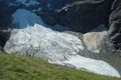 Glacier nearby Grindelwald in Alps in Switzerland — Stock Photo