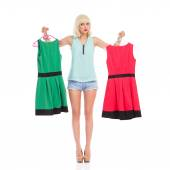 Which one should I dress? — Stock Photo