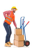 Accident at work — Stock Photo