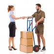 Thanks for delivery — Stock Photo #64008125