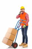 Your delivery has just arrived — Stock Photo