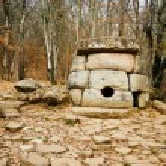 Постер, плакат: Ancient mystery stone dolmen