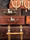 Vintage baggage — Stock Photo