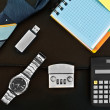 Set of accessories for business — Stockfoto #55959365