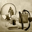 Vintage barber accessories — Stock Photo #68939723
