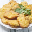 Cod fritters — Stock Photo #61816949