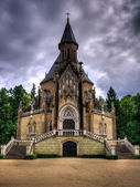 Schwarzenberg historical tomb in Domanin, South Czech — Stock Photo