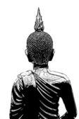 The Buddha image — Stock Photo