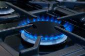 Gas cooker or stove — Stok fotoğraf