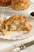 Käse-scones — Stockfoto