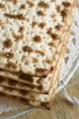 Matzah Crackers — Stock Photo