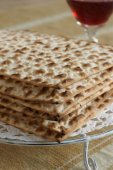 Matzah Crackers — Stock Photo